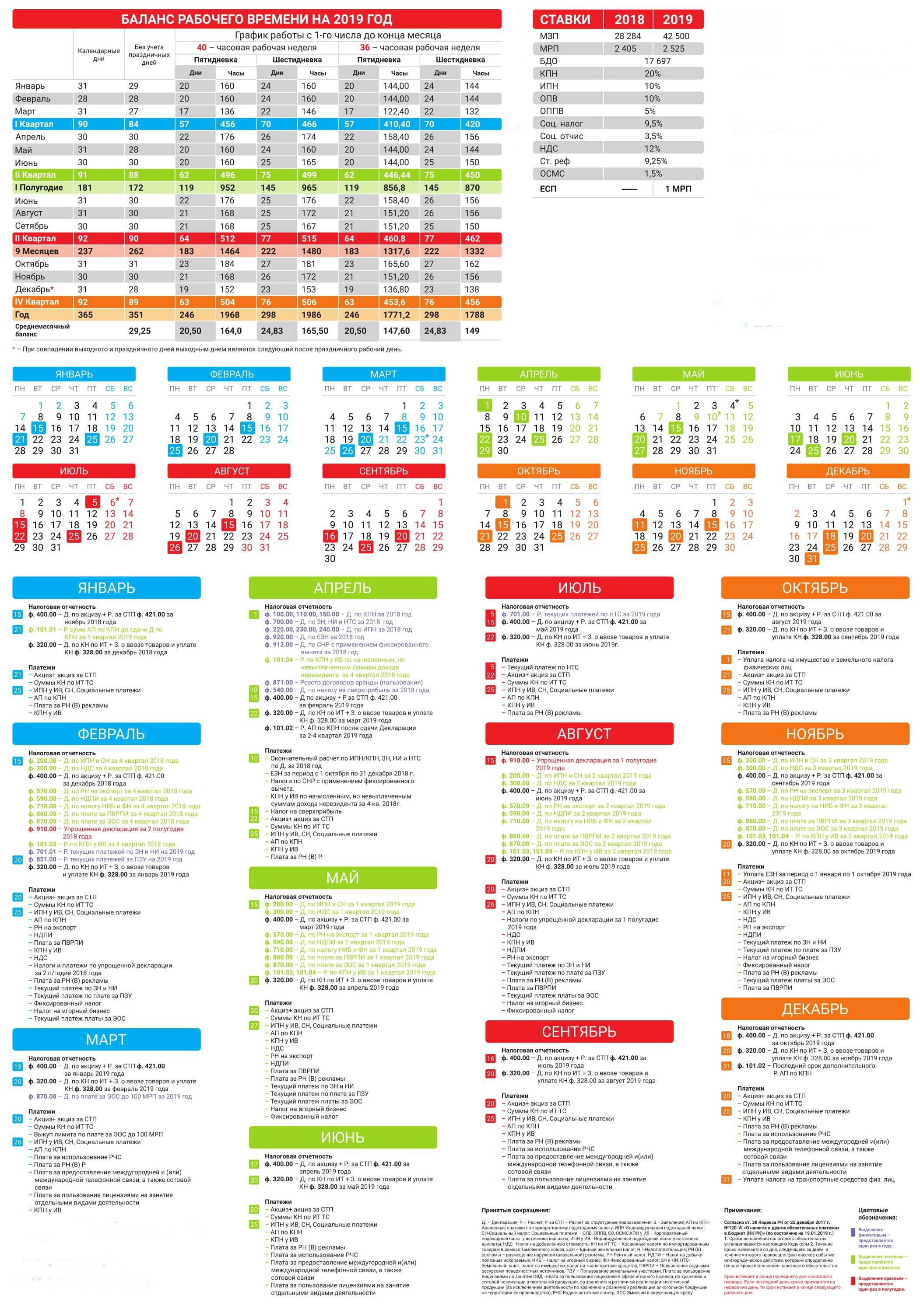 Налоговый календарь на 2019 год в рк [PUNIQRANDLINE-(au-dating-names.txt) 32